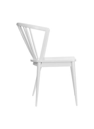 Vitale Pavılıon Beyaz Sandalye Beyaz